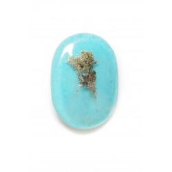 Blue Corallina brooch