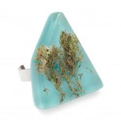 Blue Corallina ring