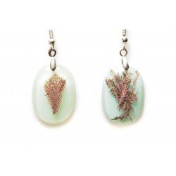 Pendientes Corallina azul