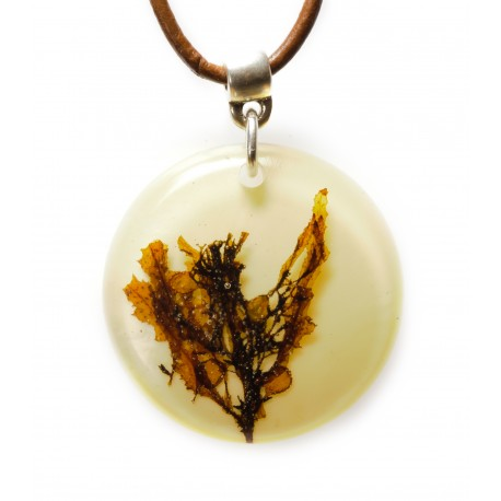 Sargassum short necklace