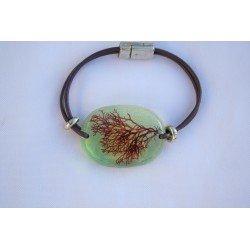 Green Sphaerococcus bracelet